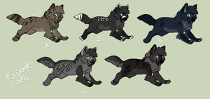 Adoptables [5] - CLOSED by Nereiix