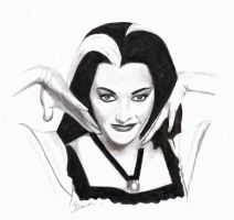 lily munster by bevf2003