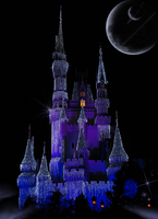Castle Under the Planets by WDWParksGal-Stock