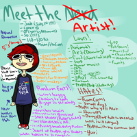 Meet The Artist by toxicfox100