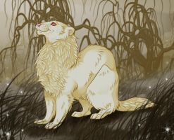 swamp ferret by Whodovoodoo