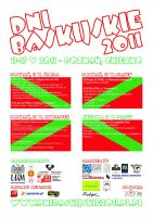 Basque Days 2011 poster by n-th-green