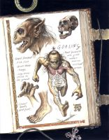 Goblin Anatomy by ChrisQuilliams