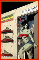 Zombie Tramp at Back Room Comics by hdub7