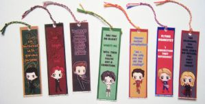 Avengers Bookmarks by IcyPanther1
