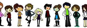 Humanized IZ ocs by InvaderYix