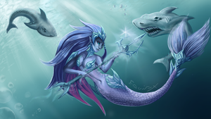 Nami - Crystal Queen by Equifox