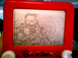Halo 3 etchasketch by pikajane