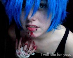 I will die for you. by Mistress-Mi