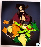 Battletoads by Captain-Paulo