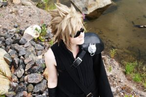 Cloud Strife III by mellierau