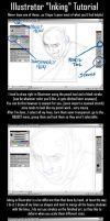 Illustrator Inking Tutorial by kheelan