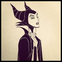Maleficent by naruto-warriors-oc