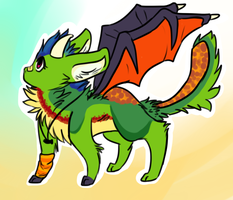Chibi Commish 1 by Freckled-Kat