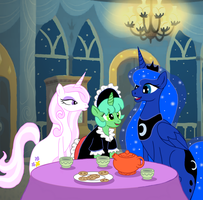 Dames of The Tea Table by Aealacreatrananda