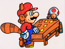 SMB3: Mushroom Match Game by JamesmanTheRegenold