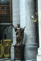 figure in cathedral in Liege 2 by ingeline-art