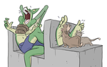 Commission_DragonTickled by PawFeather