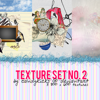 Texture Set 2 by candykicks