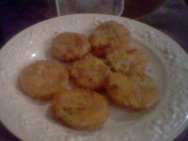Fried Green Tomatoes by Lyra-Elante