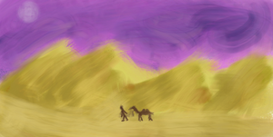 Just Desert by TheWiseWeirdProphet