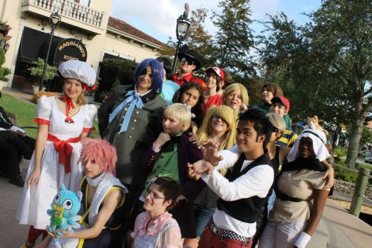 Cosplay meet up by symphonyb