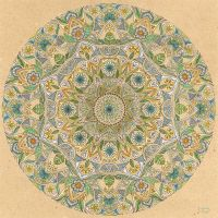 Blue Green Mandala by bgerr