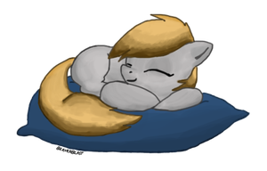 Pillow Pony by Beaverblast