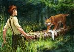 the boy and the lynx 4 by eleth89