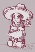 Agnes, Easy on the Churros by PixelSunshine