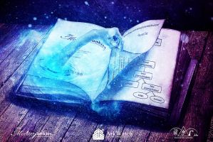 The Tome of Magic by mippieArt
