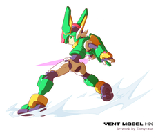Rockman ZX3 : Adult Vent HX -What if- by Tomycase