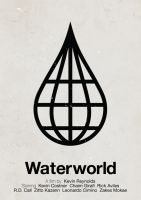 Waterworld pictogram poster by viktorhertz