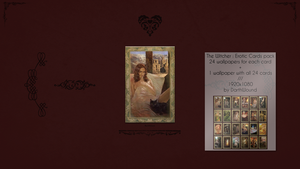 The Witcher : 'Romance Cards' - Wallpapers Pack HD by DarthWound