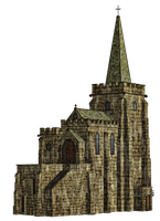 Church 2 PNG Stock by Roys-Art