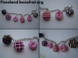 Chocolate bracelet by Shatya