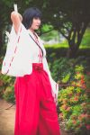 Kikyo Reaching for Arrow [Inuyasha Cosplay] by firecloak