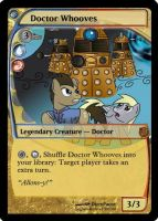 MLP_FiM_MTG - Doctor Whooves by pegasusBrohoof