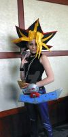 Yami/Atem Cosplay AWA 2012 Day 2 by AtemuMustang