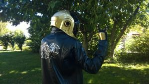 Daft Punk Manuel Guy uncompleted cosplay by Italicans