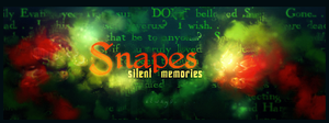 Snapes silent memories by jugga-lizzle