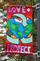 Love + Protect Our Earth by laeriana
