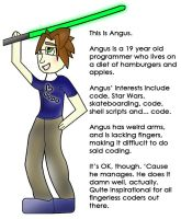 The fingerless programmer. by hannarb