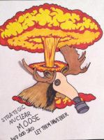 Nuclear Moose by weirddance