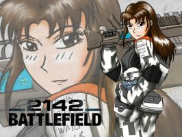 Battlefield 2142 Custom Wall by Skunk-Works