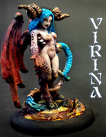 Mini A Week 49: Virina by greylond