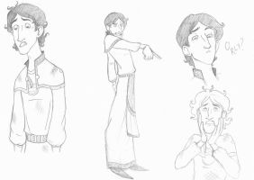 And look - MORE Ereb sketches by lubyelfears