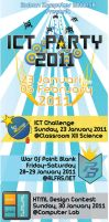 X-Banner ICT Party IKS 2011 by dendicious