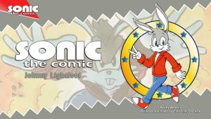 Sonic the Comic : Johnny Lightfoot by adamis