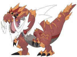 Mega Tyrantrum V.2.0 by TRXPICS